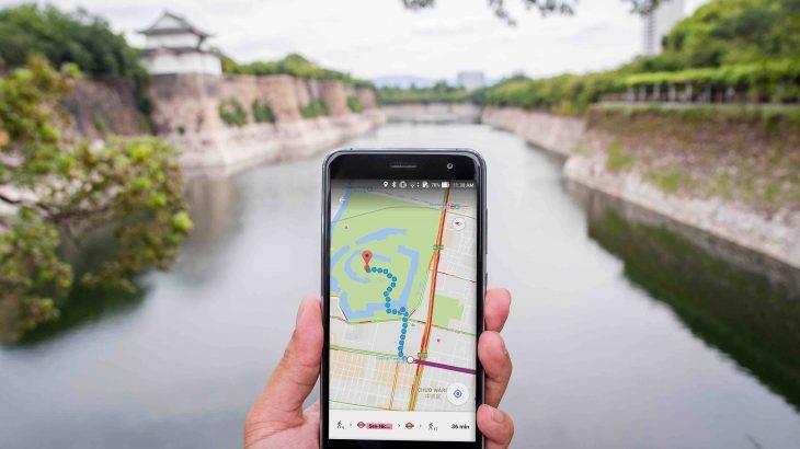 日本続100名城のグーグルマップ