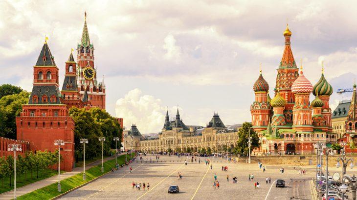 ヨーロッパ100名城、100番のロシア、モスクワのクレムリン