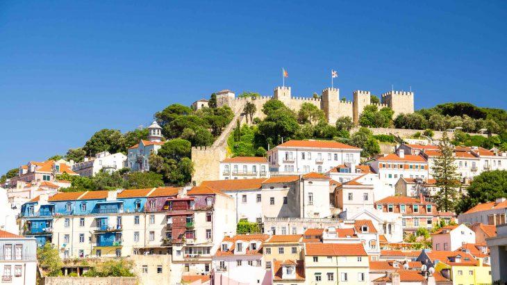 87サン・ジョルジェ城ポルトガル・リスボンの攻略法